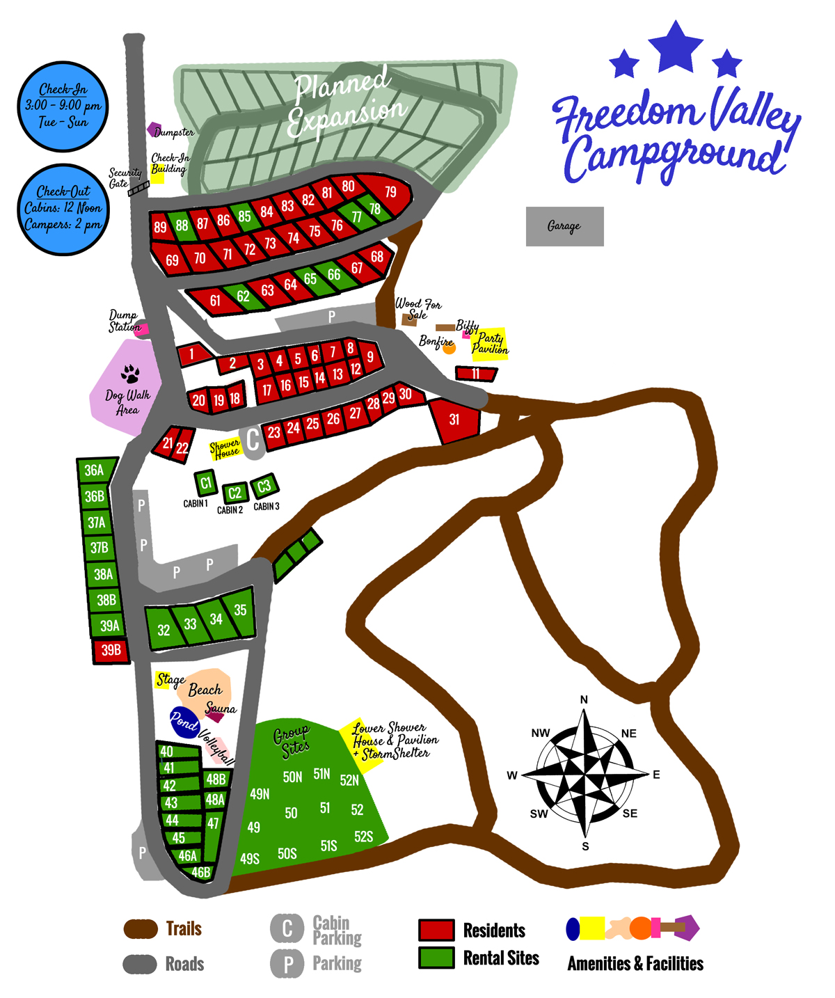 Freedom Valley Campground Wisconsin - Us-camping-map
